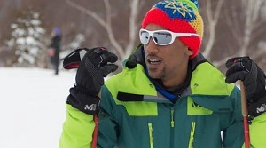 በኦሎምፒክ ብቸኛው ኢትዮጵያዊ የበረዶ ሸርተቴ ተወዳዳሪው ሮቤል -  Robel Teklemariam, Ethiopia's First Ever Ice Skater