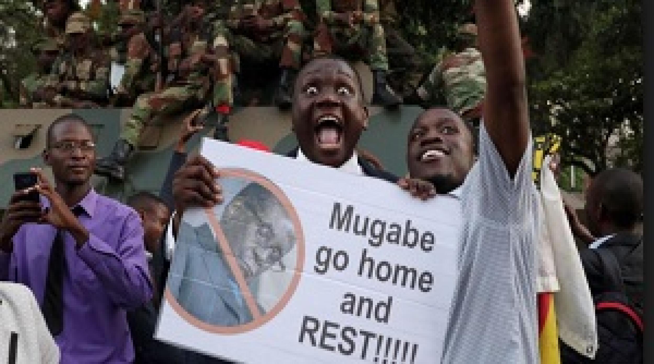 NEWS: ዚምባብዌያዊያን የሙጋቤን ሥልጣን መልቀቅ ምክንያት በማድረግ ደስታቸውን እየገለፁ ይገኛሉ - Mugabe Resigns: Zimbabwe Celebrates End of an Era