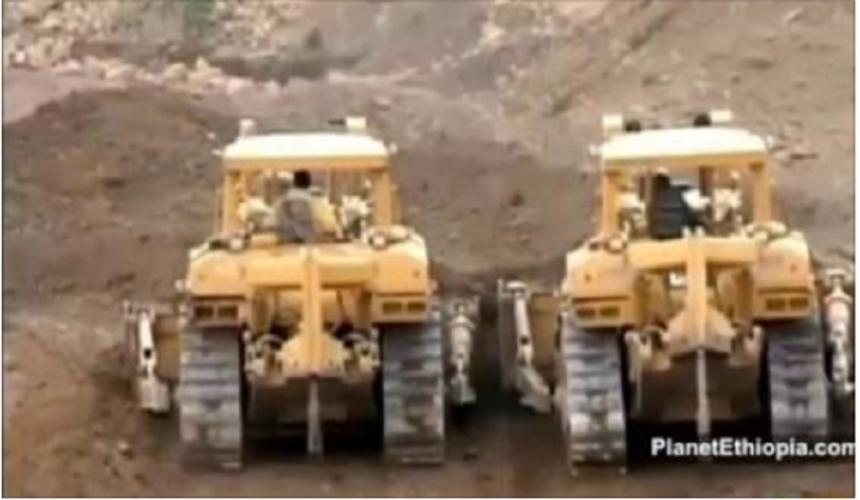 """China Geremew"" Road Constructiion Projects in Ethiopia. Must Watch!"
