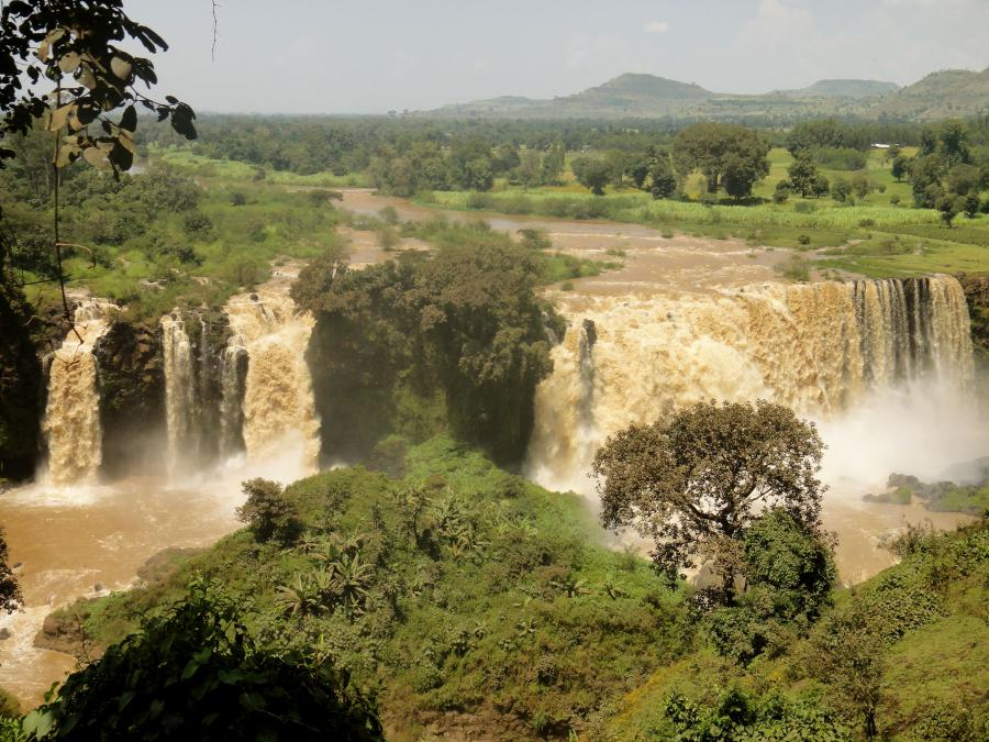 Ethiopia Source of The Blue Nile. ጥቁር አባይ