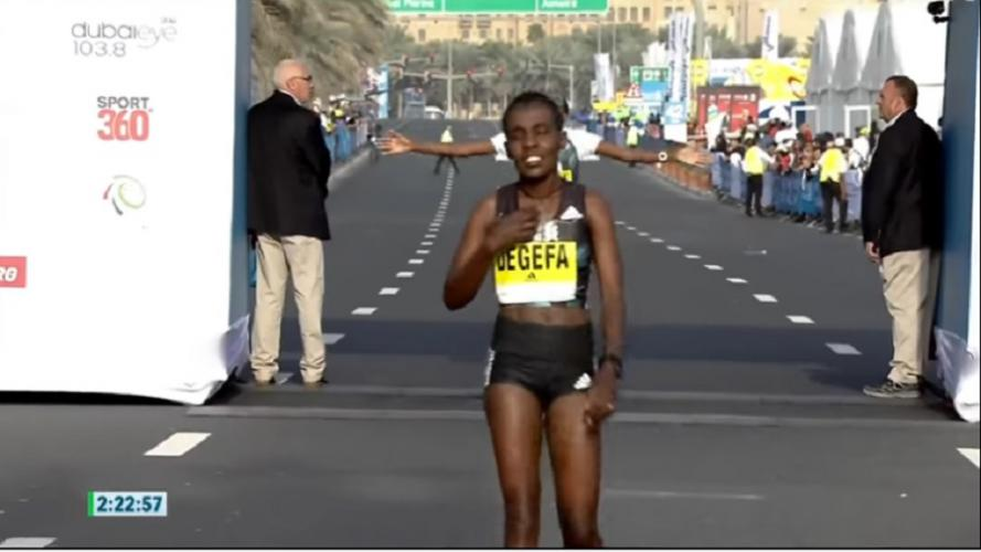 Ethiopian Athletes Dominate Dubai Marathon 2017 - ኢትዮጵያዊያን አትሌቶች የዘንድሮው የዱባይ ማራቶን 2017 ውድድር አሸናፊዎች