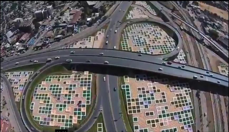 Amazing Drone Video of Addis Abeba From Above  በበራሪ ካሜራ የተቀረጸ ድንቅ የአዲስ አበባ ቪዲዮ ከሰማይ
