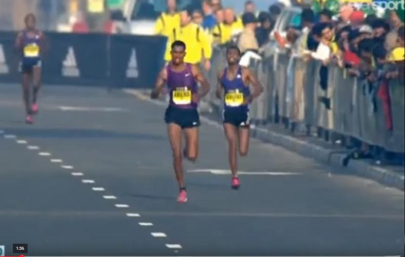 Dubai Marathon 2016: Ethiopian Runners Dominate The Dubai Marathon 2016