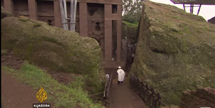 Aljazeera: Historical Preserve Of Old Churches In Lalibela Town  'Africa's Jerusalem' - ኢ