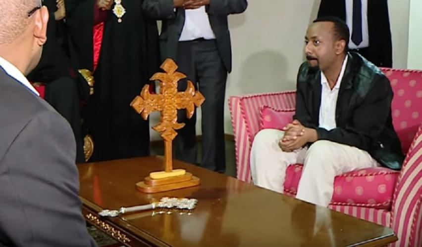 PM Dr. Abiy Ahmed Visits Abune Merkorios - ጠ/ሚ ዶ/ር አብይ አህመድ በአቡነ መርቆርዮስ መኖሪያ ቤት ያደረጉት ሙሉ ቆይታ