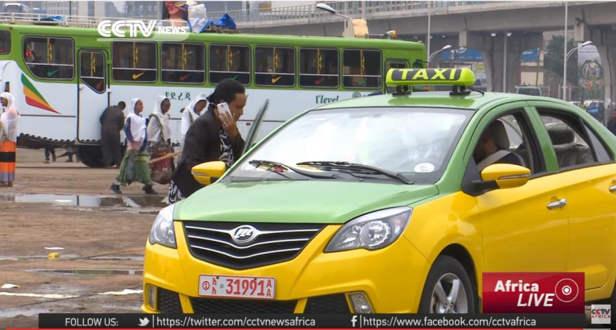 CCTV: Addis Ababa Welcomes New Meter-Run Taxi Services