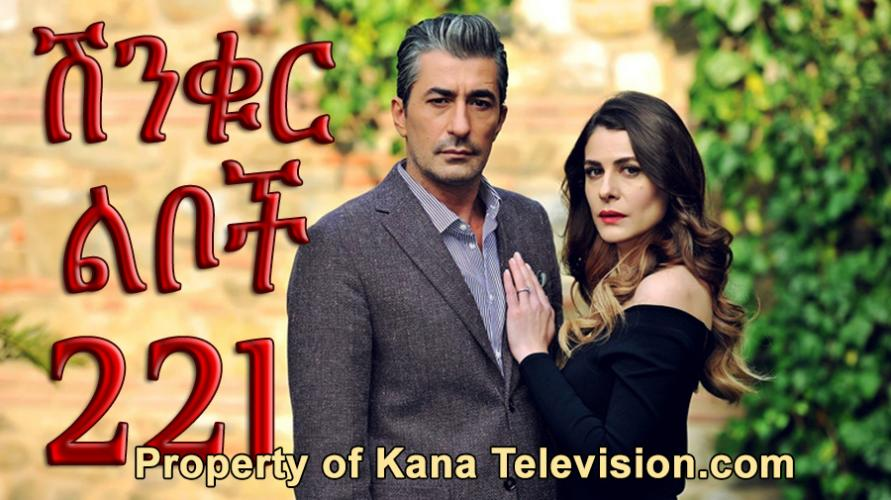 Shinkur Liboch - Part 221  (ሽንቁር ልቦች) Kana TV Drama