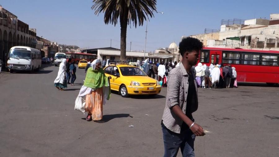 Everday Life in Asmara & Beautiful Scenes - ኑሮ በአስመራ ከተማ እና ውብ ትዕይንቶች በቱሪስት ከሜራ