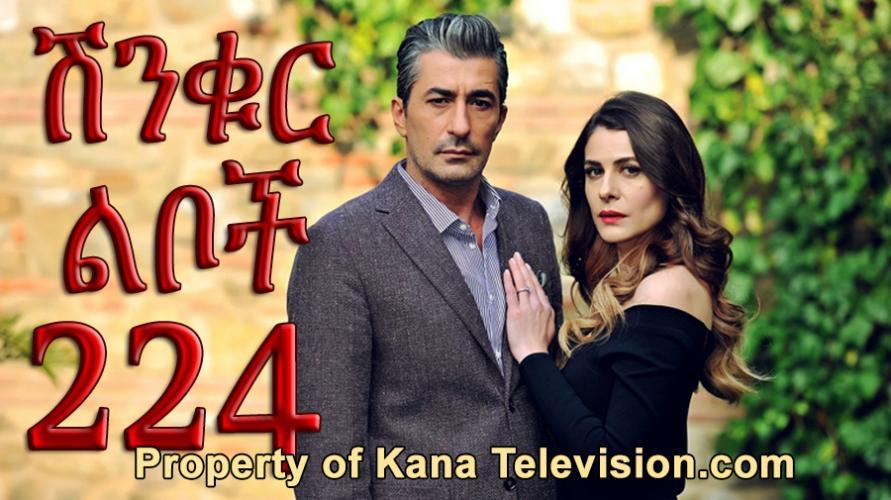 Shinkur Liboch - Part 224  (ሽንቁር ልቦች) Kana TV Drama