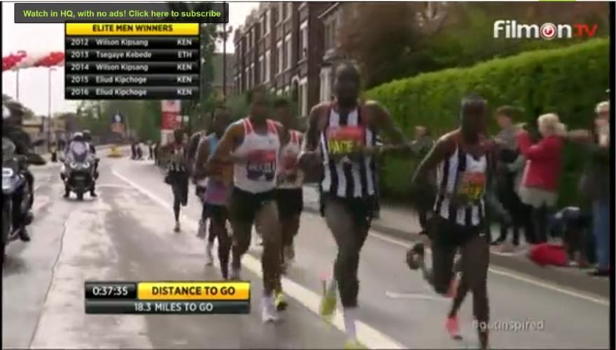 Watch The London Marathon 2017  Live - Planet Ethiopia.com