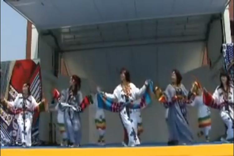 "Japanese Dancers Performing Ethiopian ""Kinet"" Folklore Dance Perfectly! ጃፓኖች የኢትዮጵያን የባሕል ውዝዋዘዎችን በግ"