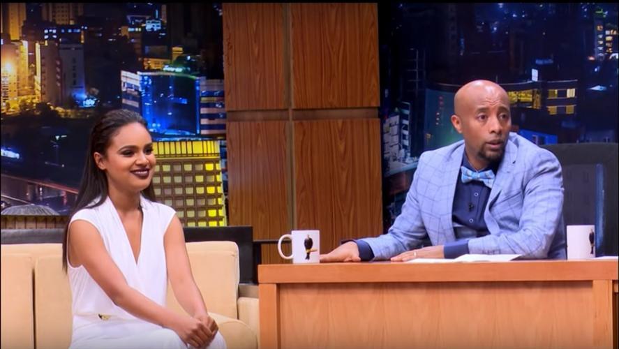 Seifu Fantahun: Talk With Actoress Selam Tesfaye - ከተዋናይት ሰላም ተስፋዬ ጋር የተደረገ ቆይታ