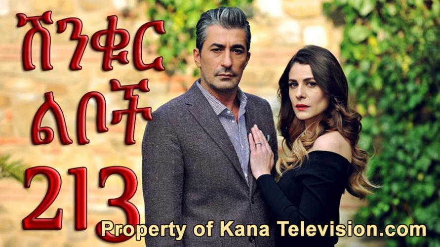 Shinkur Liboch - Part 213  (ሽንቁር ልቦች) Kana TV Drama