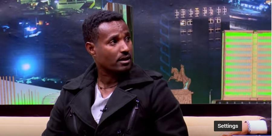 "Part 1 Seifu on EBS: Talk With ""Yene Konjo"" Whiner Abraham Ayele - አብርሃም አየለ ""የእኔ ቆንጆ ኑሪ"" በሰይፉ በኢቢኤሰ"