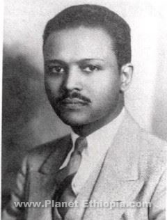 Melaku E. Bayen 1892-1932E.C. (1900-1940) The First Ethiopian Physician trained in the U.S. and Political activist during Italo-Ethiopian Conflict was born on April 27, 1900, in Wello Province in central Ethiopia. He is the son of Grazmach Bayen and Woyzero (Mrs.) Desta. His parents move to Harar, when he was a baby. The young Melaku was raised and educated in the compound of Ras (General) Mekonnen, then the Governor of Harar and the father of Lij Tafari, the future Emperor Haile Selassie. In accordance with the aristocracy's custom of educating and training likely young boys for positions of leadership, young Melaku was placed under the tutelage of Lij Tafari and taught by priests, attached to Ras Mekonnen's royal court. Melaku lived close to the future king, serving as both his page and personal attendant in the royal courts of Harar and later of Addis Ababa at least for a decade.  Life in the royal court taught young Melaku strict discipline and gracious protocol. On January 19, 1921 Melaku was sent to India along with two young men and a woman for preparatory studies under private tutors from Great Britain.  The sudden death of the young woman left Melaku and his compatriots devastated, hence making their stay in India unbearable. So they appealed to Ras Tafari to permit them to pursue their studies in the United States, where imperialistic designs on Africa seemed absent. The students' request was granted.  In the company of an American missionary to Ethiopia, Melaku set sail with Worku Gobena and Beshawered Habteweld for the U.S. Upon their arrival in 1922, the young Ethiopians had with them a sealed envelope containing a personal letter of recommendation to President Warren G. Harding from Ras Tafari, heir apparent to the Ethiopian throne. The Ethiopian Regent addressed a courteous and yet forceful letter to President Harding that emphasized the great need for educated Ethiopians. Because of their impressive credentials from the Ethiopian regent, the trio was permitted to meet Mr. Harding, who urged the Africans to enroll at Marietta College in Southeast Ohio. Melaku finished the prep school in 1925 and that fall Melaku entered Muskingum College near Columbus, Ohio. He graduated from that institution just three years later, becoming one of the first Ethiopians to earn an American degree.  In 1928 Bayen enrolled at Ohio State University in Columbus as a graduate student of chemistry. A year later, he was admitted to the Medical School at Howard University, one of the nation's most prestigious black educational institutions.  Melaku attended the coronation of Emperor Haile Selassie on November 2, 1930 in Addis Ababa and traveled back and forth many times accompanying African American recruits for various jobs and briefing the new Emperor on the situation in the United States. At Howard, he co-founded the Ethiopian Research Council in 1930 with  Professor Leo Hansberry, one of the pioneers of African studies in the United States. The Council was regarded as the principal link between Ethiopians and African Americans particularly in the early years of the Italo-Ethiopian conflict. After the Italian invasion of Ethiopia, Melaku focused less upon recruiting skilled Afro-Americans for service in Ethiopia and more on mobilizing black American support for his country.   After graduating from Howard medical school in June 1935, Dr. Melaku had originally intended to remain in the U.S. to complete his internship, but the serious situation in Ethiopia caused the Emperor to recall him. Thus, on July 10, 1935, the physician departed for Ethiopia with his wife, Dorothy, and young son, Melaku Jr.  There, Dr. Melaku's duties at the American Mission Hospital in the capital and later with the Ethiopian Red Cross in the Ogaden, brought him into intimate contact with the war. Meanwhile, the war went badly for the Ethiopians. When it became clear in late April 1936 that it was senseless to attempt to defend the capital, members of the Imperial Council persuaded the Emperor to leave the country for Geneva to make a final appeal to the League of Nations for support. When the Italian Army captured Addis Ababa, Melaku's family went to England and later to the United States to fully campaign for Ethiopia. Melaku and his wife Dorothy Hadley, created a newspaper called Voice of Ethiopia to simultaneously denounce Jim Crow in America and fascist invasion in Ethiopia.  News of Ethiopia's plight fueled indignation and furious debates among African Americans. In Harlem, Chicago, and various other cities African American churches urged their members to speak out against the invasion. Melaku established at least 28 branches of Ethiopian World Federation, an organ of resistance calling on Ethiopians and friends of Ethiopia throughout the United States, Europe, and the Caribbean. Touched by the Emperor's speech at the League of Nations, and Melaku's impassioned message, blacks vowed to support Ethiopia. Melaku Beyan and his African American counterparts remained undeterred for the remainder of Ethiopia's struggle against colonization. In 1940, a year before Ethiopia's victory against Italy, Melaku Beyan succumbed to pneumonia, which he had caught while walking door-to-door in the peak of winter, speaking boldly about the war for freedom in Ethiopia.   Sources: Girma Abebe(Dr.) - Melaku E. Bayen: The first Ethiopian to earn an American