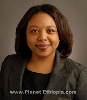 Ethiopian American Yeshimebet Abebe who is working as an Advisor
