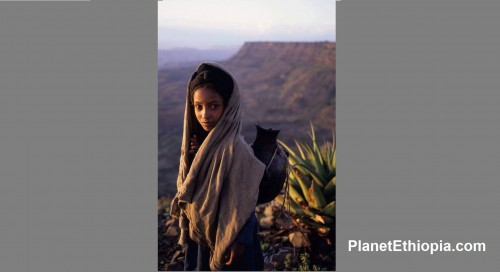 Ethiopian Village Girl