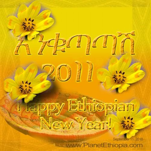 መልካም አዲስ ዓመት 2011 - Happy New Year 2011