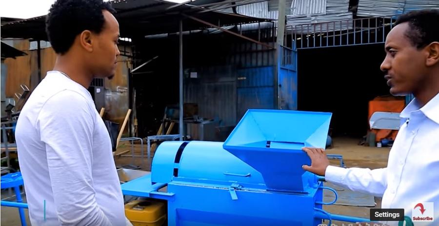 LTV Made in Ethiopia: በሰዓት 60ኩንታል እህል የሚያመርት ማሽን