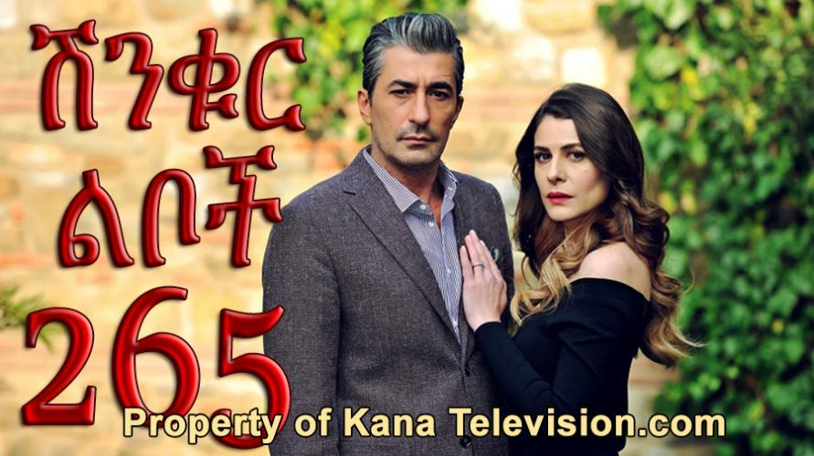Shinkur Liboch - Part 265  (ሽንቁር ልቦች) Kana TV Drama