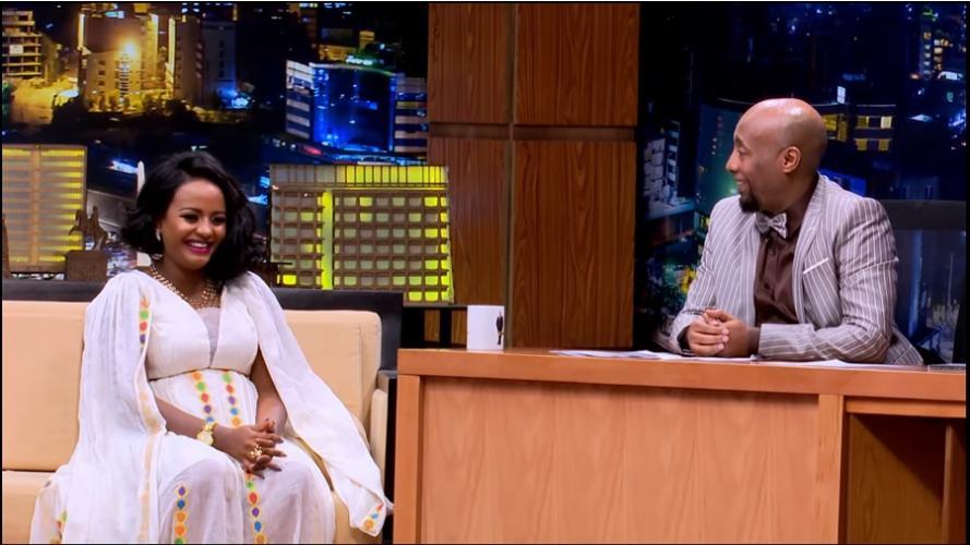 Seifu Fantahun: Talk With Singer Eden G/Selassie - ከድምፃዊት ኤደን ገብረስላሴ ጋር የተደረገ አዝናኝ ቆይታ