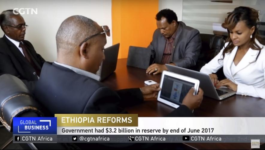 CGTN: Ethiopia announced that it would partially or fully privatize some of its state owned firms